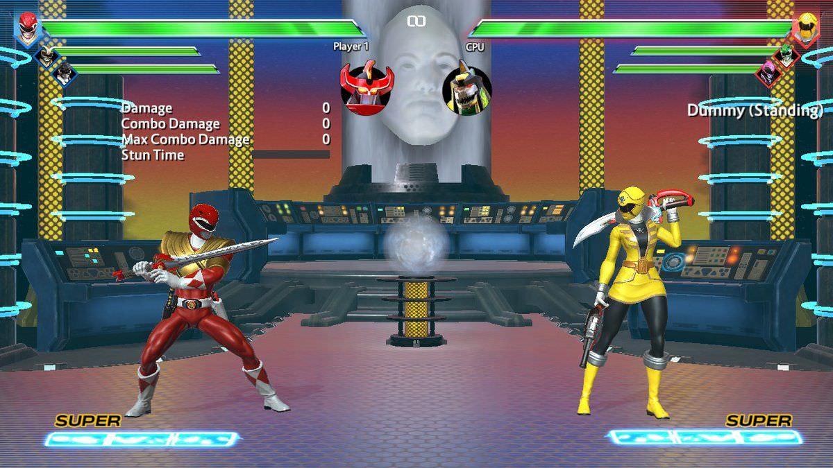 Les combats de Power Rangers: Battle for the Grid sont simples à prendre en mains