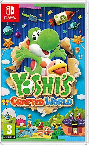 Yoshi's Crafted World box art