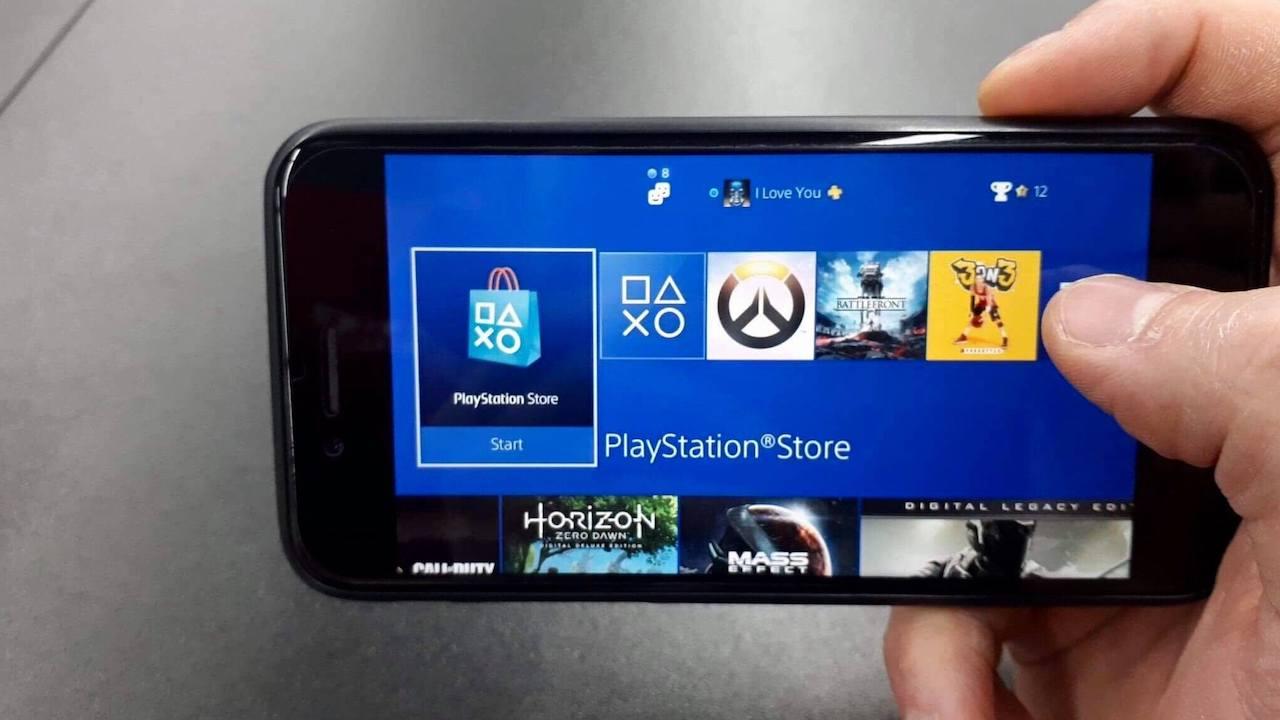 Le remote play PS4 est disponible sur iOS