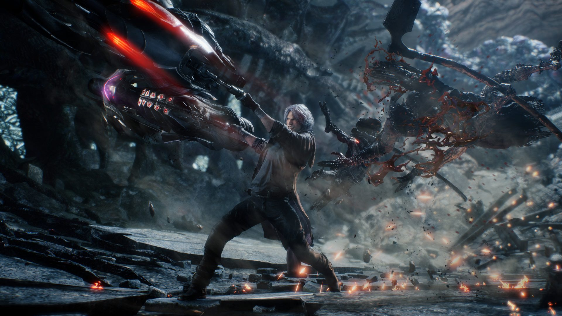 Dante entre en action dans Devil May Cry 5