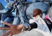Seto Kaiba invoque ses monstres dans Jump Force