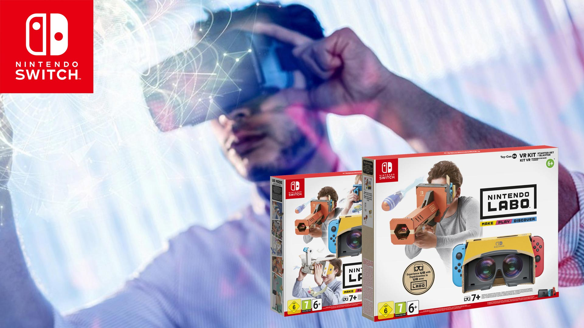 La VR débarque enfin sur Nintendo Switch