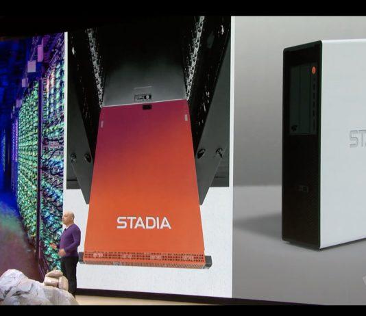 Stadia, la plateforme de jeu de Google est annoncée