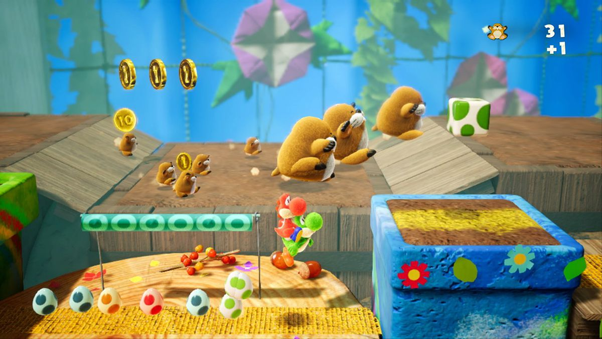 Yoshi's Crafted World présente un level desig original