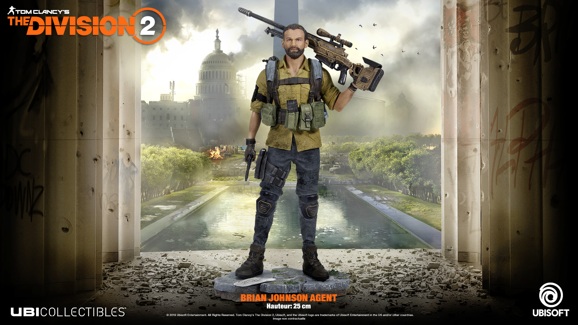 Remportez une figurine The Division 2