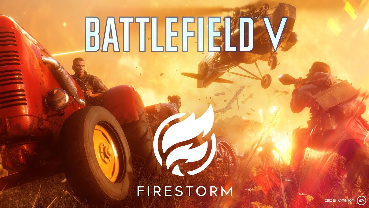 Firestorm, le mode battle royale de Battlefield V annoncé par DICE