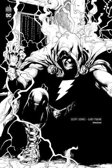 Shazam édition noir et blanc aux éditions Urban Comics