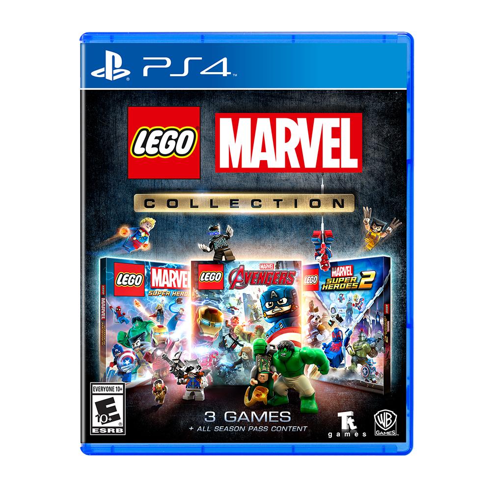 fiche technique de Lego Marvel Collection