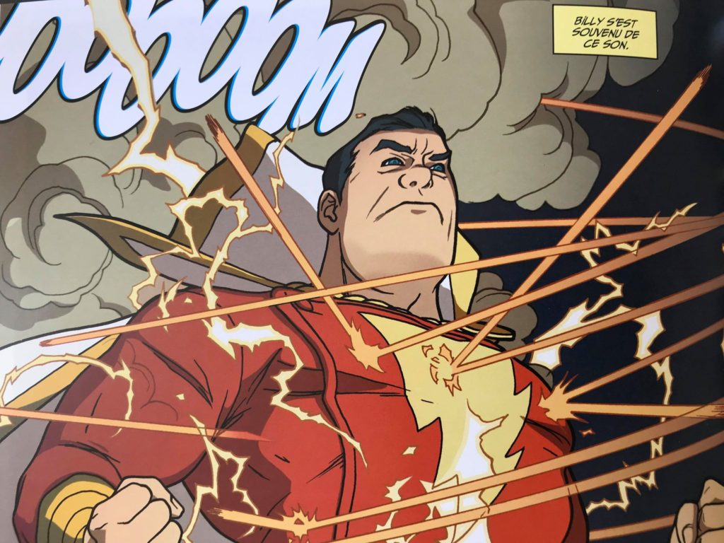 Shazam, un des héros les plus puissants