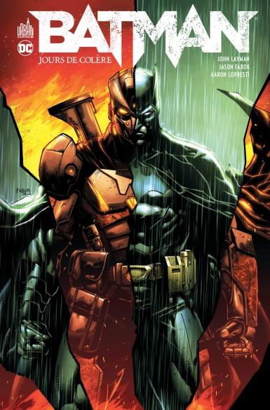 Notre avis sur Batman Jours de Colère par urban Comics