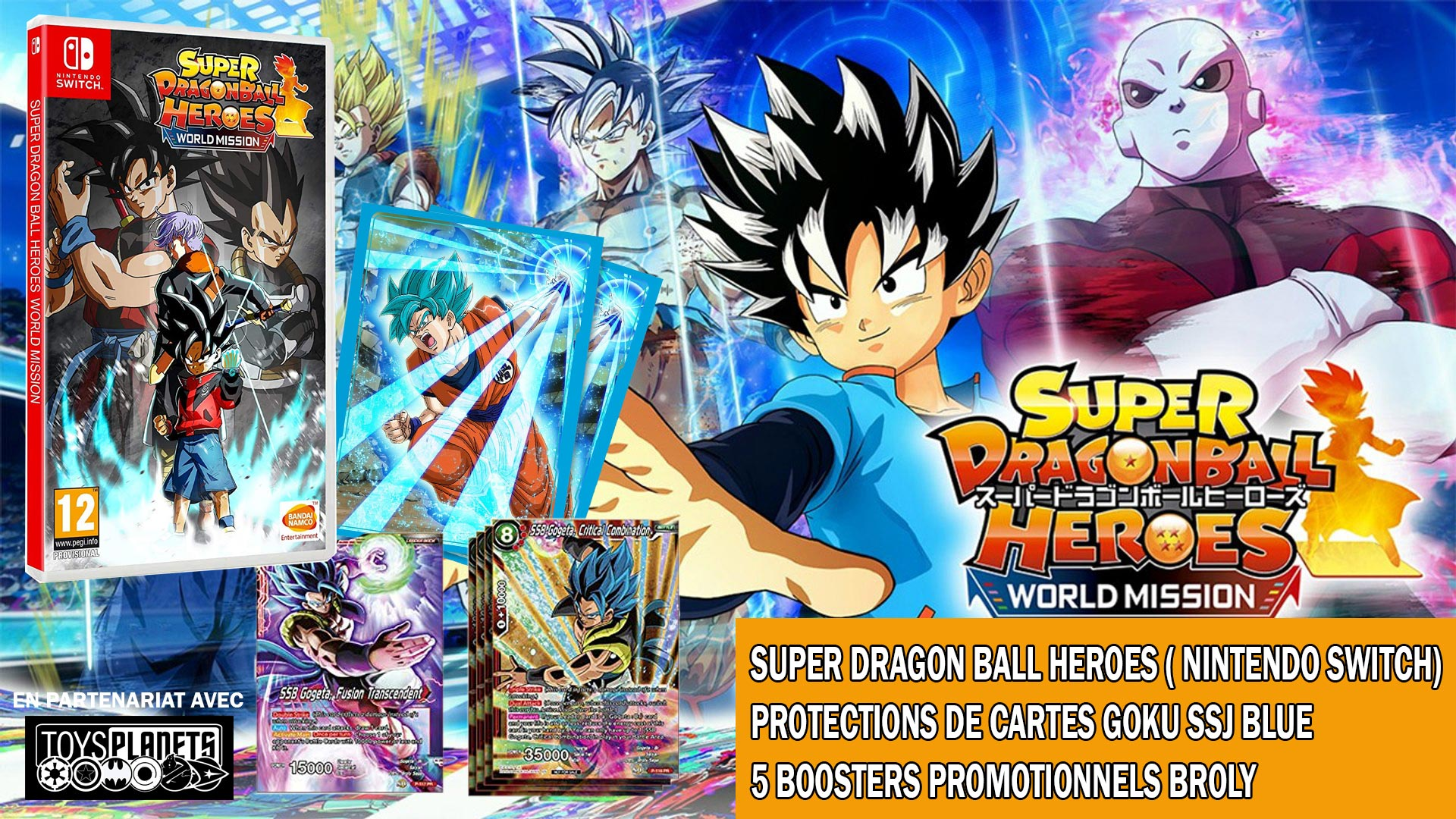 Concours super dragon ball heroes World Mission
