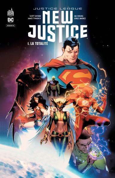 Notre avis sur New Justice Tome 1 (urban comics)