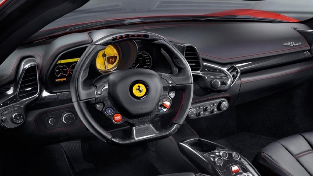 Le Ferrari 458 Spider Racing Wheel, réplique 7/10e de l'original