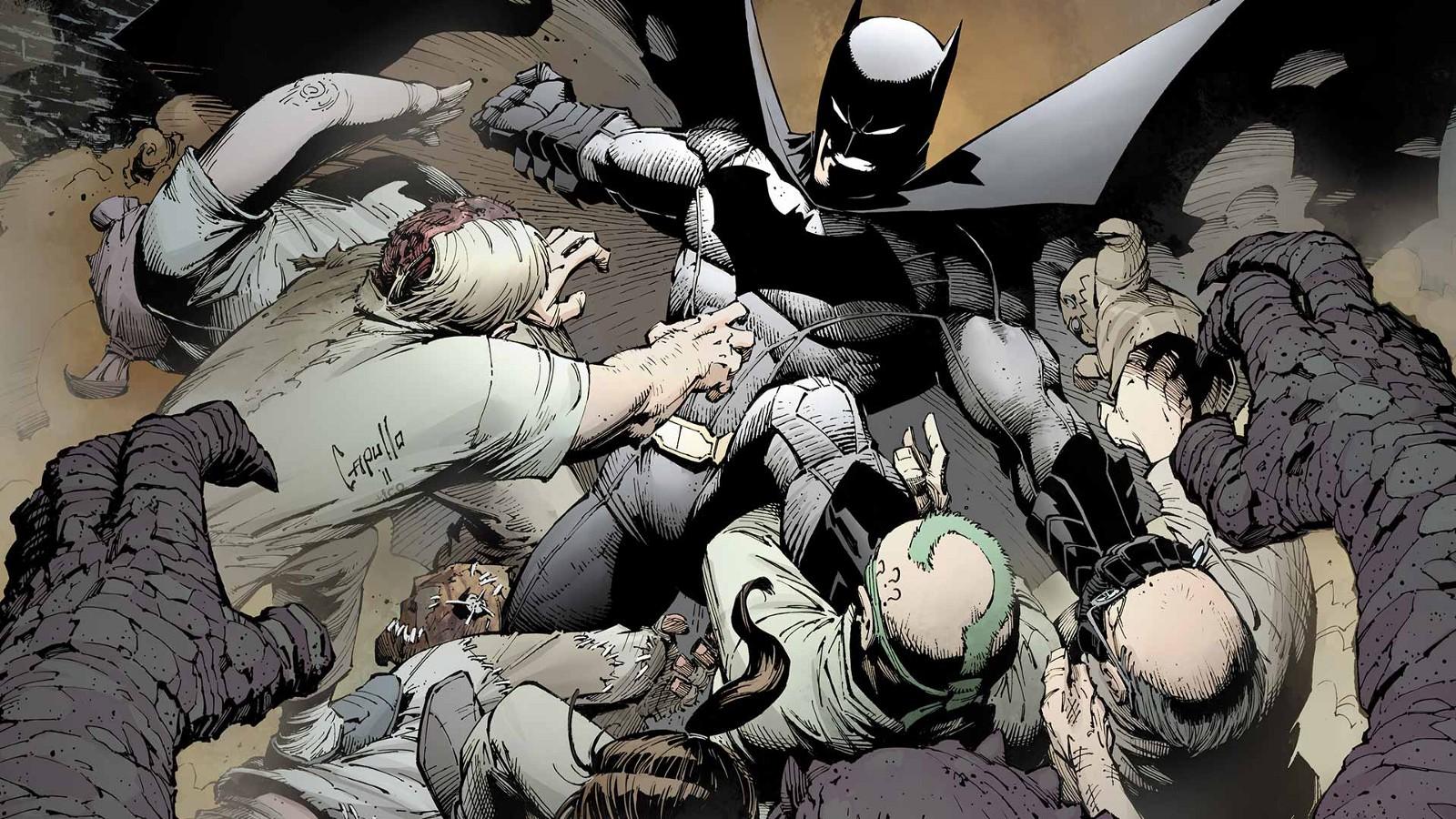Urban Comics proposera des version noir et blanc de Batman par Greg Capullo et Scott Snyder