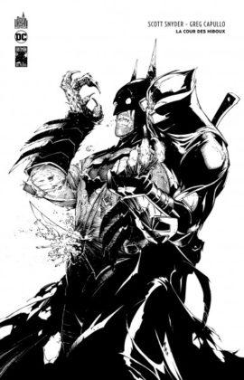 Batman la cour des hiboux noir et blanc par Urban Comics
