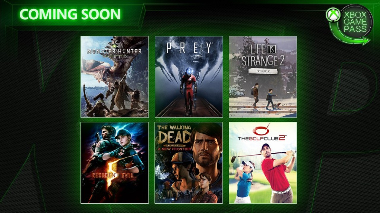 Xbox Game Pass avril 2019
