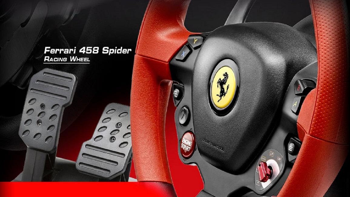 Avis thrustmaster ferrari 458 spider racing wheel