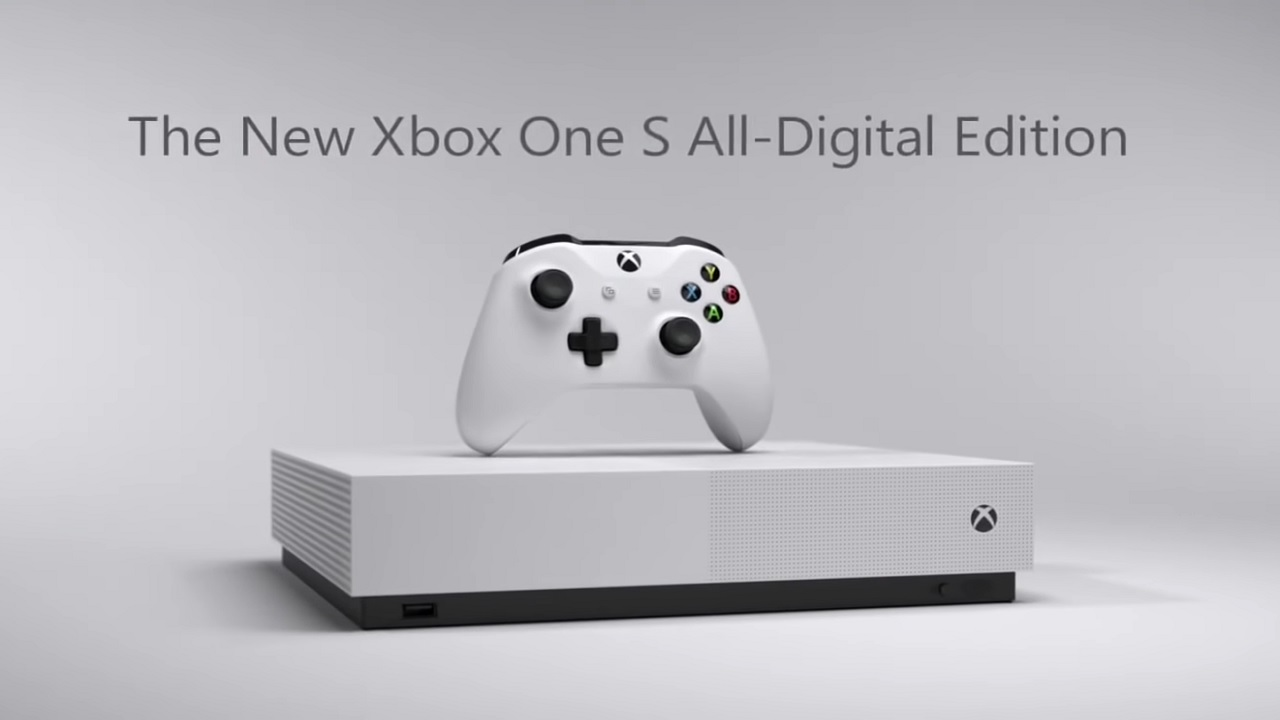 Xbox One S All-digital, contre le marché du physique?