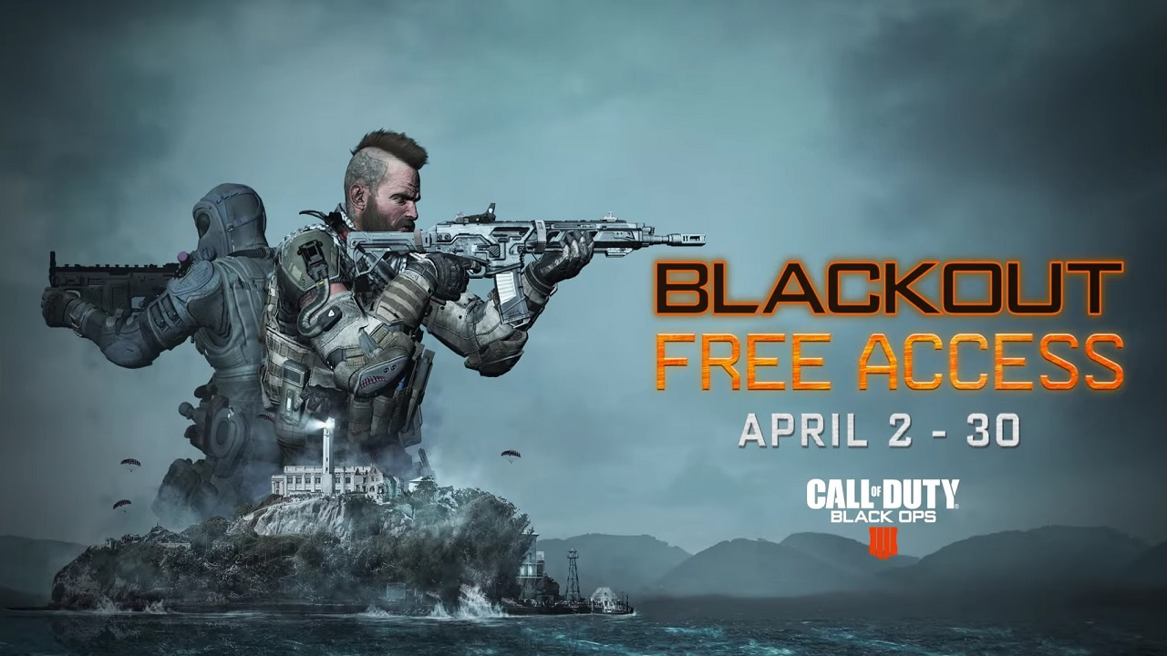 Le mode Blackout de Black ops 4 accessible tout le mois d'avril