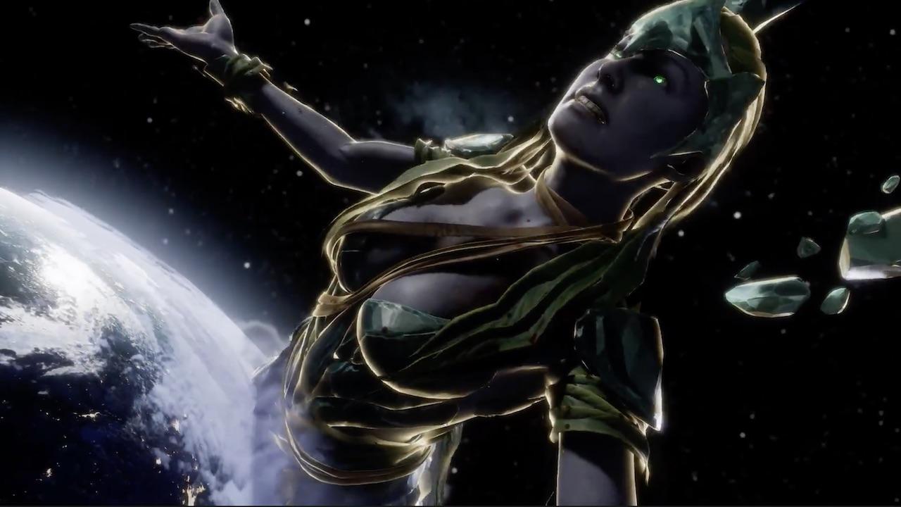 Un trailer pour Cetrion dans Mortal Kombat 11