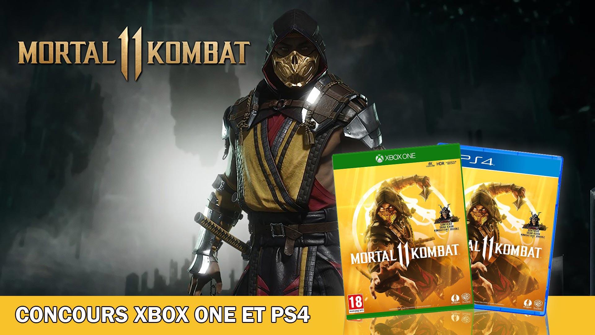 Concours Mortal Kombat 11