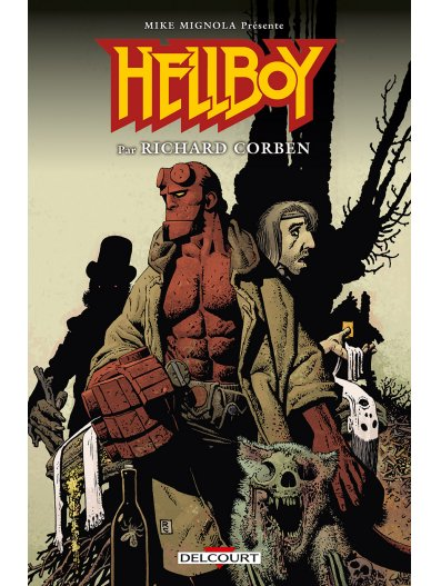 Hellboy par Richard Corben