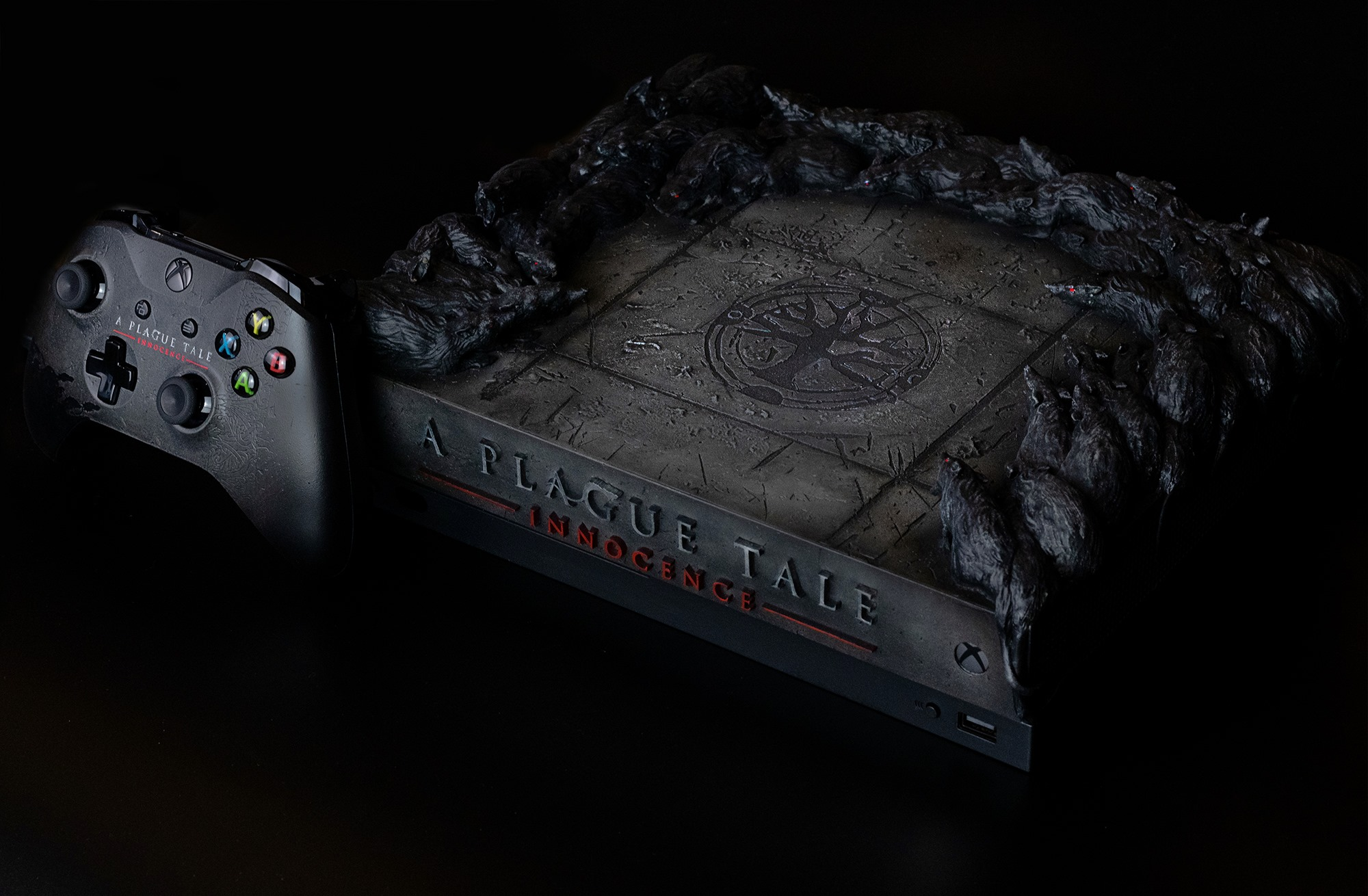 Remportez une Xbox One X custom A Plague Tale
