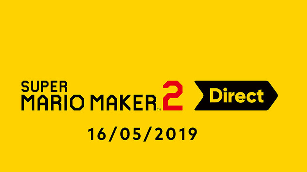 Un Nintendo Direct Super Mario Maker 2 prévu