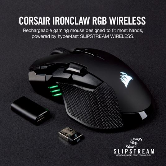 corsair ironclaw rgb wireless
