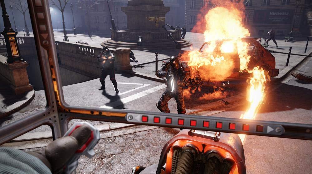 Pilotez des mastodonte de fer dans Wolfenstein Cyberpilot