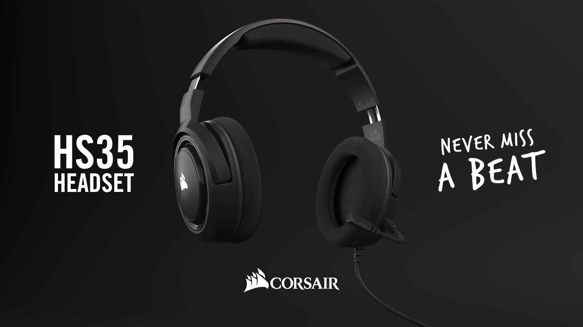 Notre avis sur le casque Corsair HS35