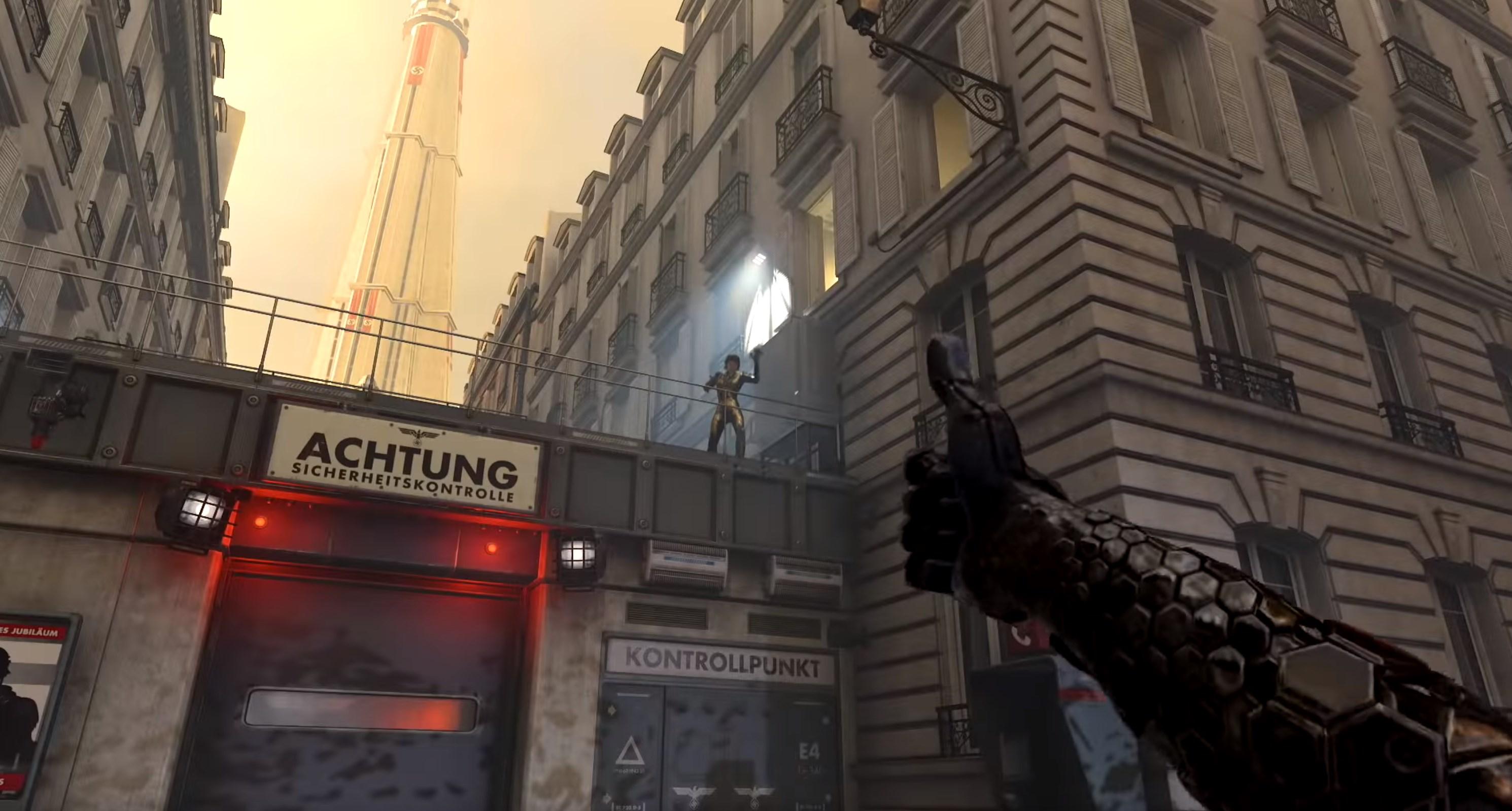Paris est méconnaissable dans Wolfenstein Youngblood