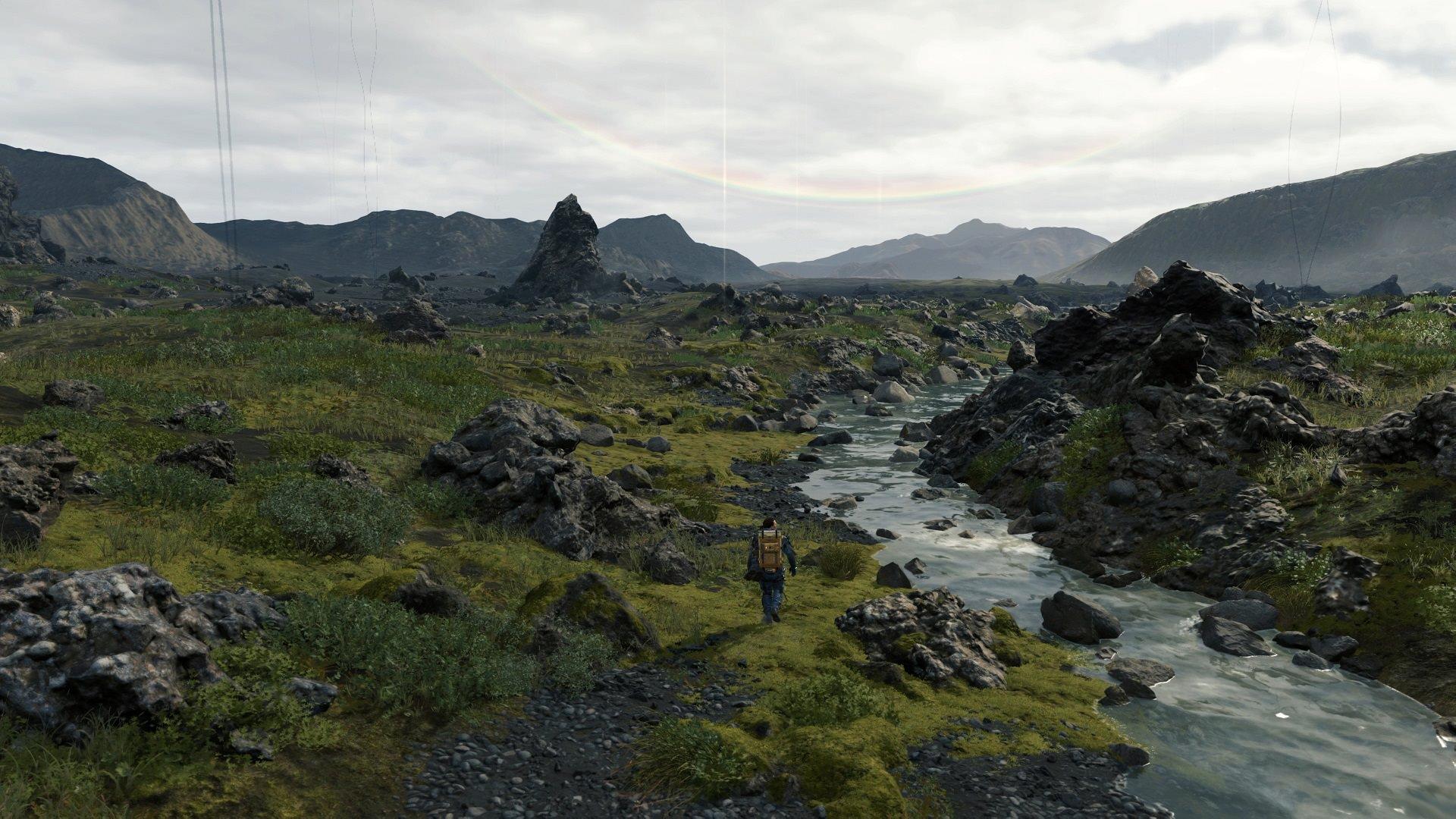 explorer le monde de Death Stranding est un vrai régal visuel