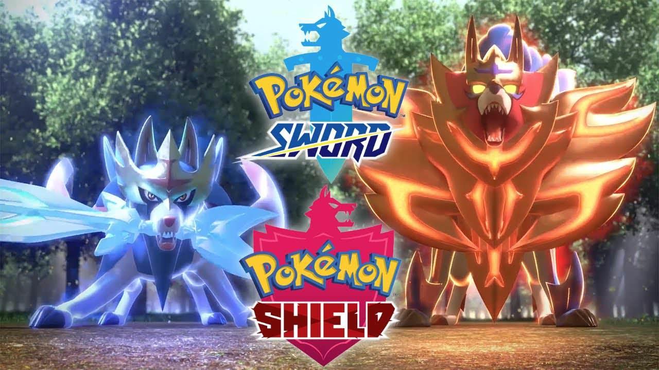 Pokemon Sword & Shield pokemon épée et bouclier