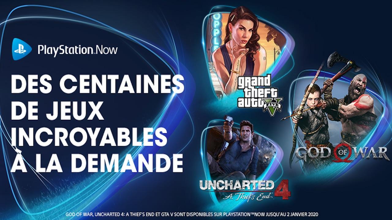 Le Playstation now baisse ses prix
