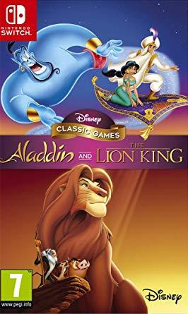 Aladdin et Le Roi Lion Collection Disney