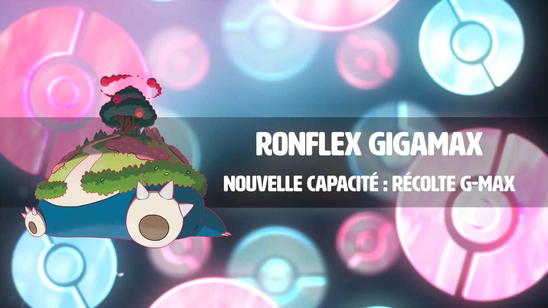 Ronflex Gigamax s'annonce en vidéo pour Pokémon Épée et Bouclier