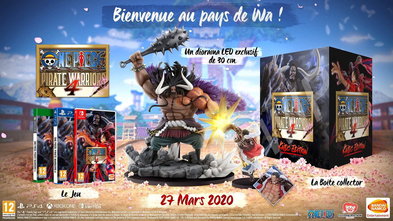 one piece pirate warriors 4 annonce son collector